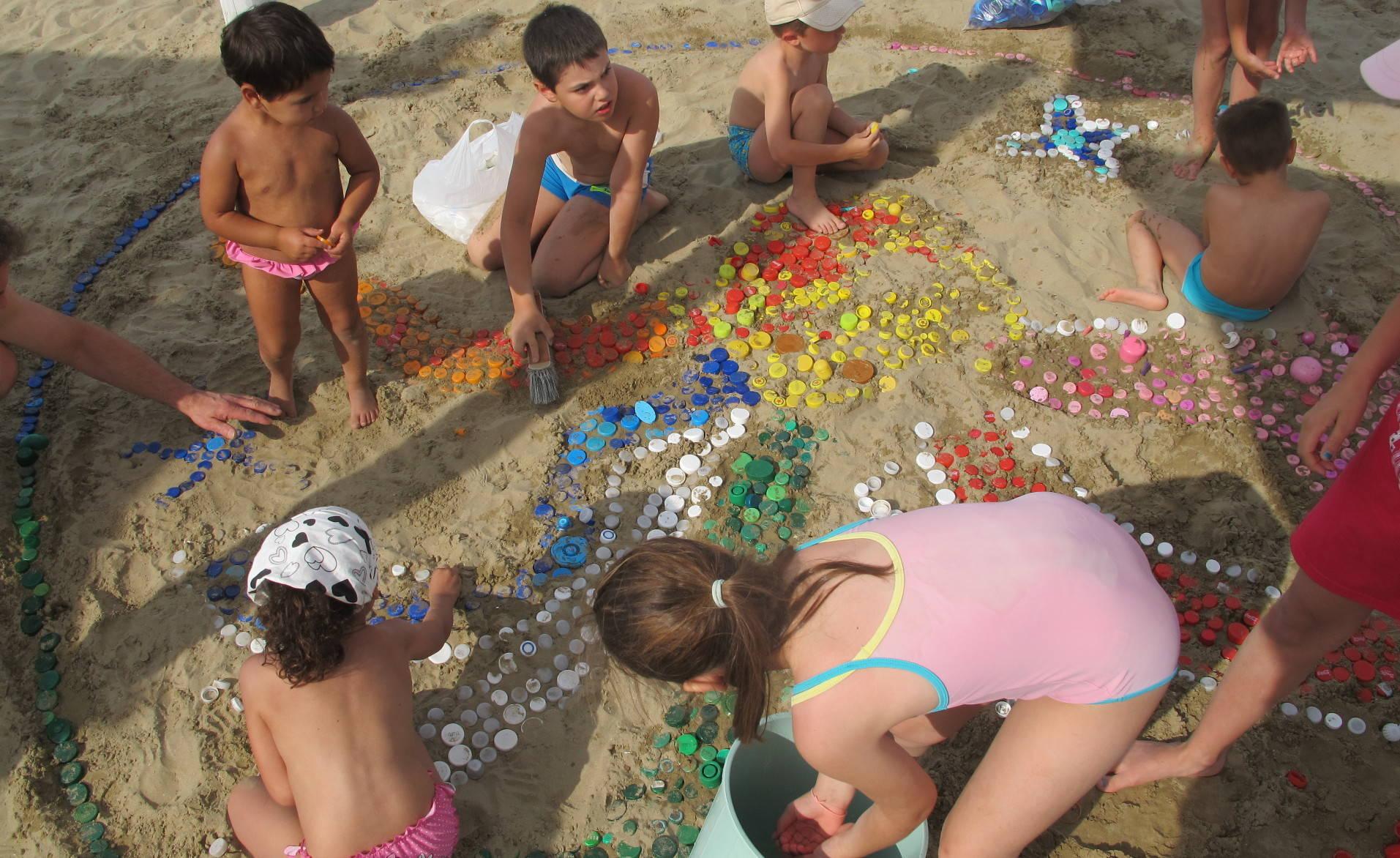 Servizi per bambini in spiaggia | Bagni 70-71 Torre Pedrera